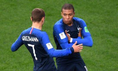 FranceCroatie - Griezmann Mbappé nous fait énormément de bien...j'espère qu'on verra un grand Kyky