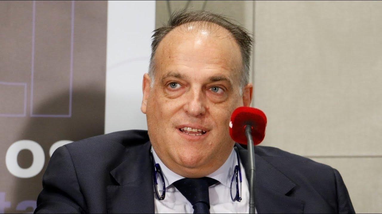 Javier Tebas répond à la LFP je dénoncerai plus vite et encore mieux