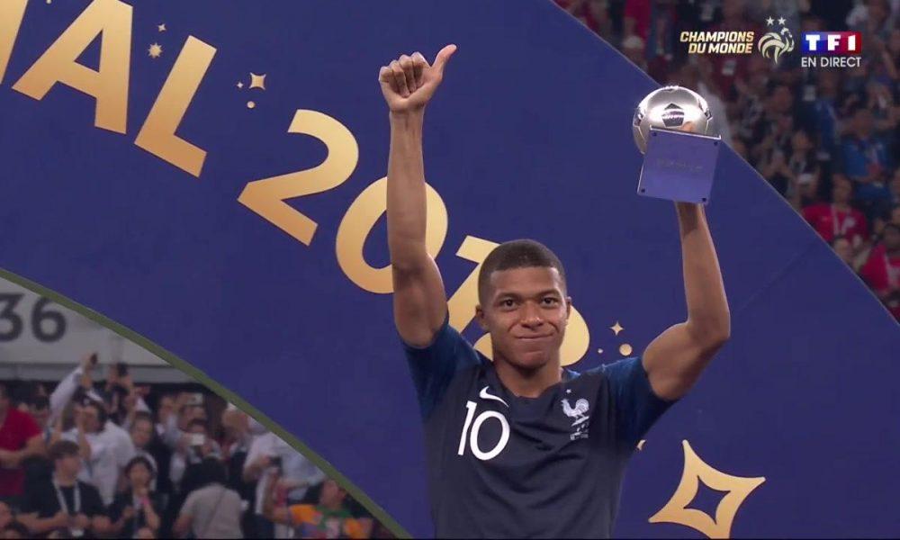 Kylian Mbappé meilleur jeune joueur FIFA