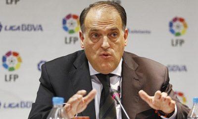 La LFP a défendu le PSG face à Javier Tebas et l'a menacé