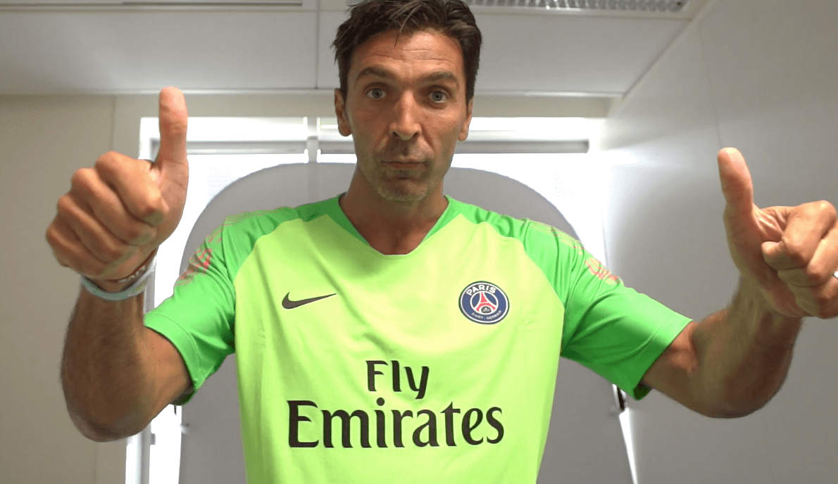 Maillot THIRD Paris Saint-Germain Gianluigi BUFFON