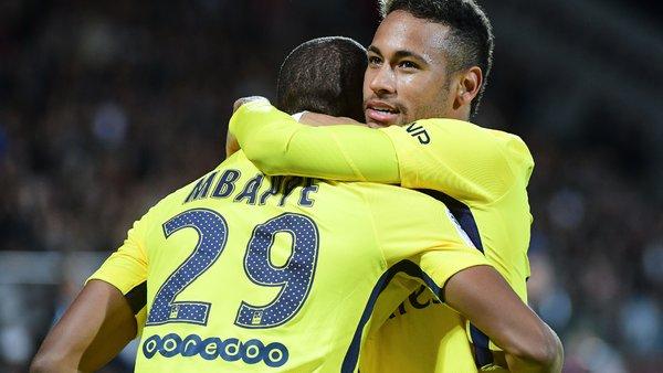 Neymar Le PSG Je continue...Je suis allé là-bas pour un objectif. Mbappé C'est un phénomène