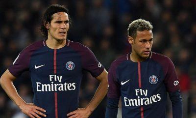 PSG/AS Monaco - Cavani probablement absent et un doute pour Neymar, selon L'Equipe