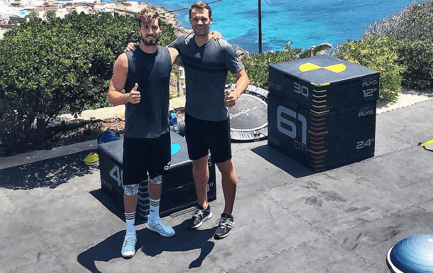 Kevin Trapp s'entraîne avec Manuel Neuer pendant ses vacances