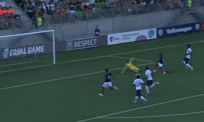L'Equipe de France U19 se qualifie en demi-finale de l'Euro grâce à sa victoire contre l'Angleterre, Diaby décisif