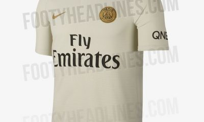Les images du maillot extérieur du PSG 2018-2019 au complet