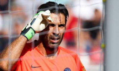 """Buffon """"J'ai beaucoup suivi le PSG pendant ces trois dernières années...S'il y a un groupe et un vestiaire forts"""""""