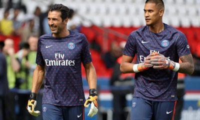 """Deschamps: """"Il y a une bonne relation entre Areola et Buffon"""""""
