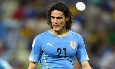 Edinson Cavani laissé au repos par le sélectionneur de l'Uruguay pour la trêve de septembre