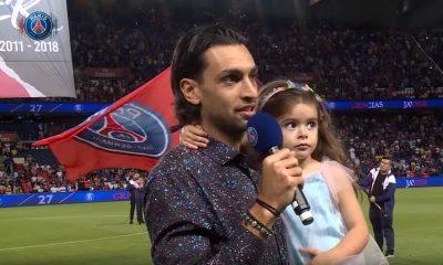 Javier Pastore hommage PSG