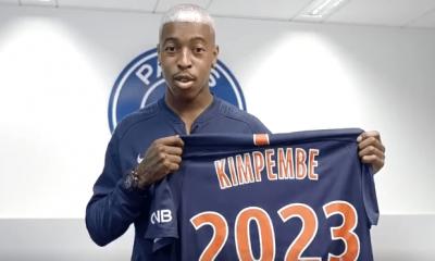 """Le PSG officialise la prolongation de contrat de Kimpembe """"Cinq ans de plus au club, c'est une vraie fierté"""""""