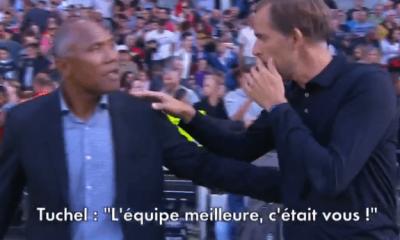 """Tuchel à Kombouaré """"Normalement, tu as mérité de gagner...c'est seulement la qualité individuelle"""""""
