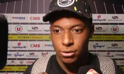 """Guingamp/PSG - Mbappé """"On aurait pu en encaisser davantage... On a appliquer les consigne du coach et cela a marché en seconde période"""""""