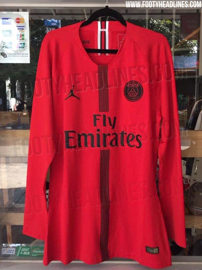 Les deux tenues Air Jordan du PSG pour la Ligue des Champions 2018-2019 dévoilées