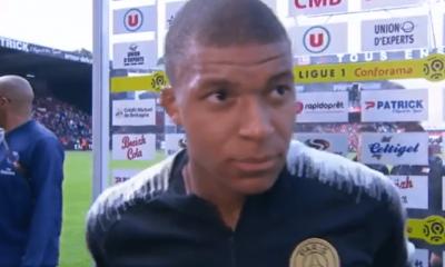 """Guingamp/PSG - Mbappé """"c'est toute l'équipe qui voulait montrer autre chose"""""""