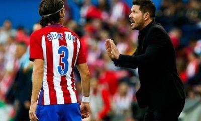 """Mercato - Diego Simeone """"Filipe Luis ? Je pense qu'il va rester"""""""