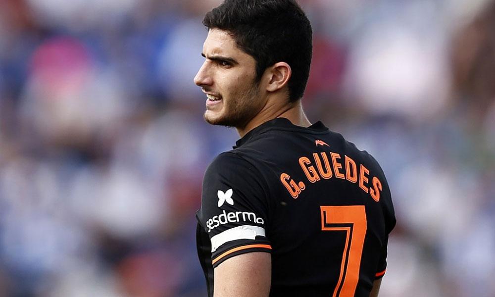 Mercato - Guedes cédé à Valence dans un prêt à achat différé, selon la Cadena Cope et la Cadena SER Valencia