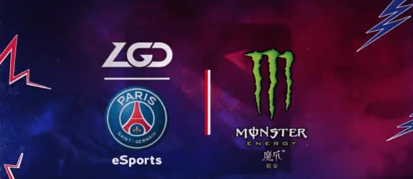 La section eSport du PSG officialise son contrat de sponsoring avec Monster Energy