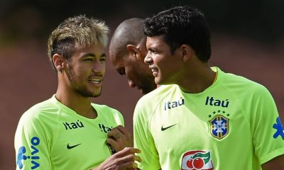Neymar+ Thiago Silva