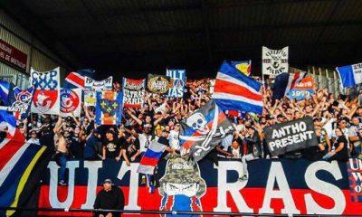 NîmesPSG - Le Stade des Costières au complet, avec plus de 900 supporters parisiens dans le parcage