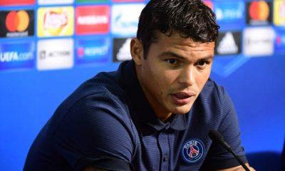 """PSG/AS Monaco - Thiago Silva """"On a beaucoup parlé avec Tuchel...Nous sommes contents d'avoir un entraîneur avec une personnalité différente"""""""
