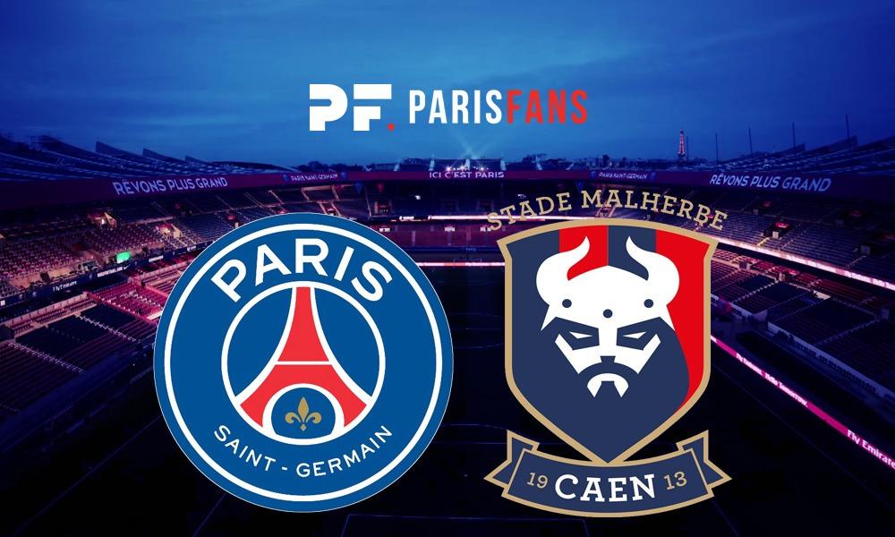 PSG/Caen - Les équipes officielles