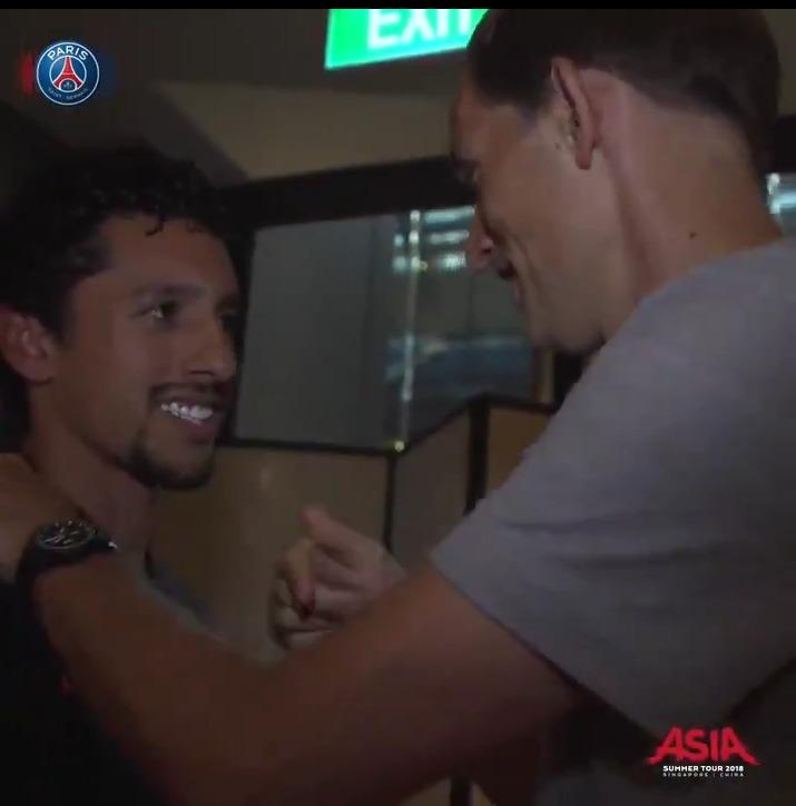 Le PSG annonce le retour de Marquinhos dans le groupe