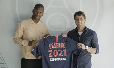 Le PSG officialise la signature du contrat professionnel de Samuel Essende