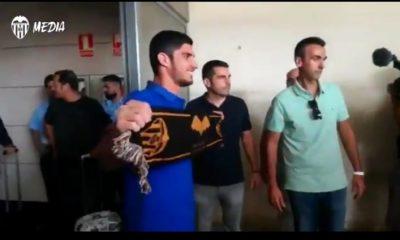 Guedes est à Valence pour signer son contrat