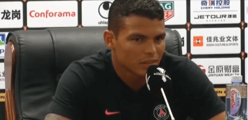 """Thiago Silva """"On doit féliciter tout le monde...J'espère que c'est juste le commencement"""""""