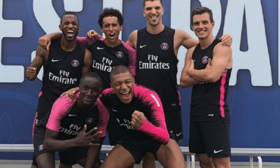 Les images du PSG ce mercredi : entraîneur et vainqueurs du tournoi