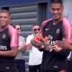 Les images du PSG ce mardi : entrainement, fête pour les champions du Monde et Dani Alves au travail !