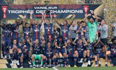 Les images du PSG ce samedi : Trophée des Champions et message de Buffon