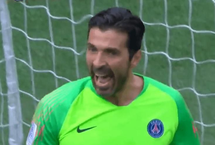 Les images du PSG ce lundi : Buffon à l'honneur