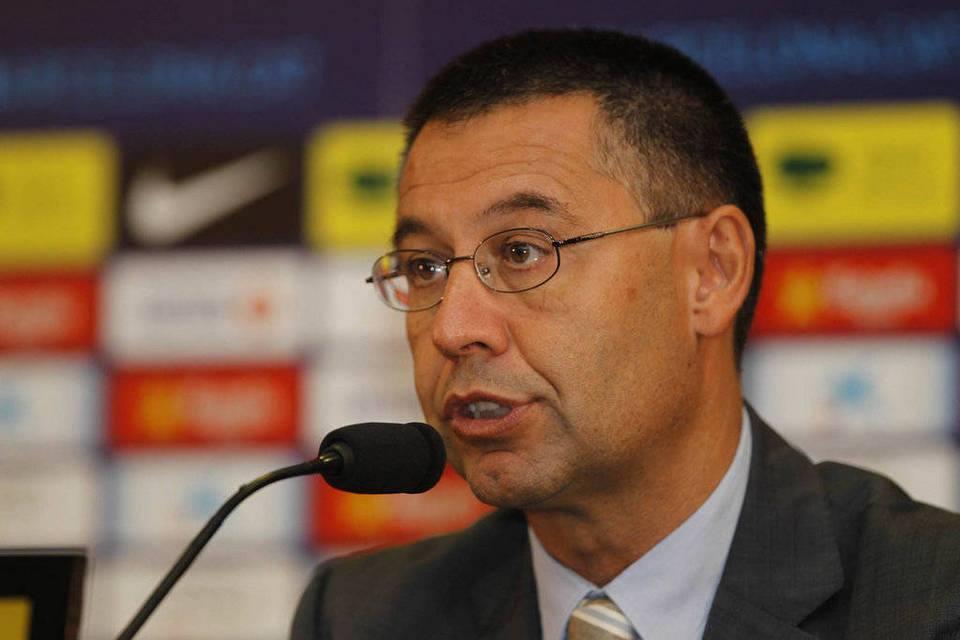 """Bartomeu """"Neymar ? Au Barça, c'est le projet sportif qui prime, pas le projet économique"""""""