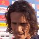 """Nîmes/PSG - Cavani """"Ils ont su nous faire mal, c'est bien de jouer des matchs comme ça."""""""
