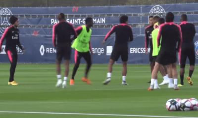 Les images du PSG ce vendredi : déplacement à Nice, zapping et FIFA 19