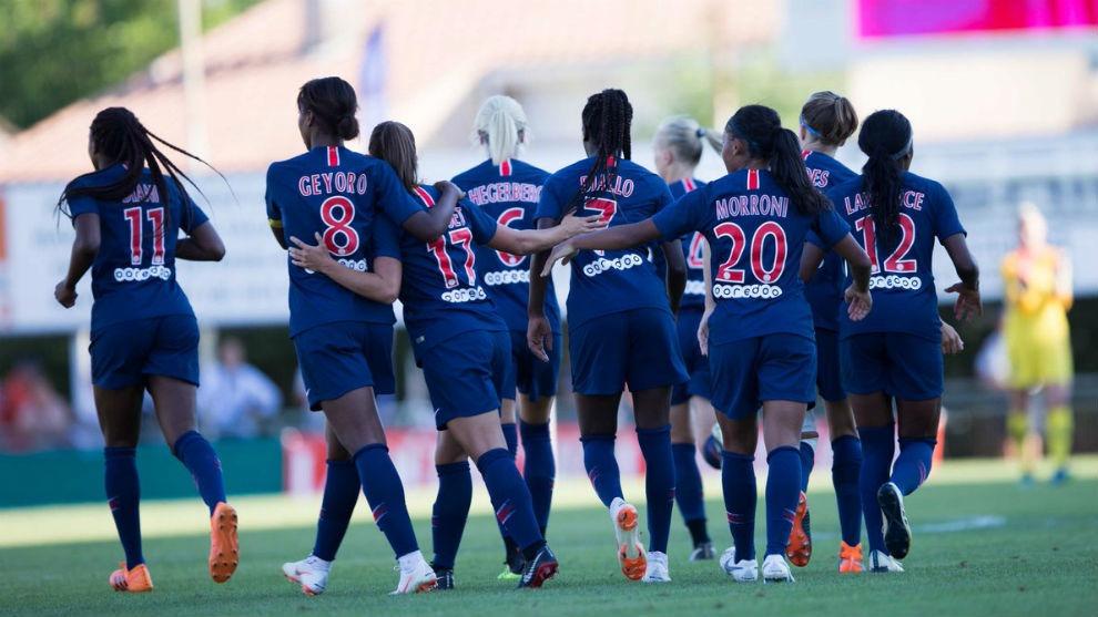 L'équipe féminine du PSG s'impose joliment contre Montpellier