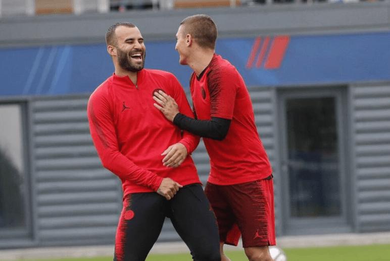 Les images du PSG ce mardi : Jesé s'amuse avec Verratti, plutôt du silence autour du match à Liverpool