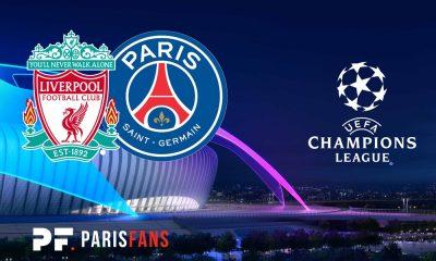 Liverpool/PSG - Les équipes officielles :