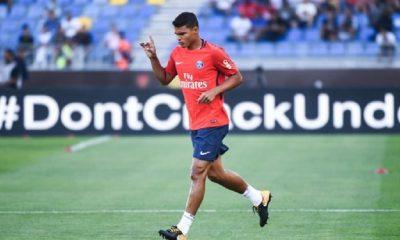 LiverpoolPSG - Thiago Silva Je suis très fier de mon équipe...Nous sommes préparés