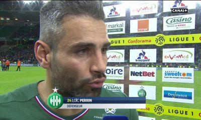 Loïc Perrin réaction après match