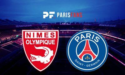 Nîmes/PSG - Les équipes officielles : Paris en 4-2-3-1 avec Nsoki en arrière gauche et Marquinhos au milieu