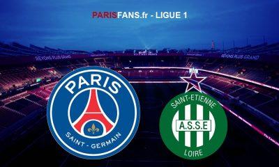 PSGAS Saint-Etienne - L'Equipe propose déjà un onze parisien probable
