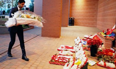 Le président Nasser Al-Khelaïfi a rendu hommage aux victimes de la tragédie d'Hillsborough à Anfield