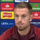 """Liverpool/PSG - Henderson """"On veut marquer les esprits...on est plein de confiance"""""""