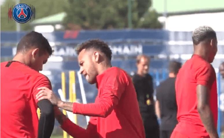 Les images du PSG ce lundi : préparation pour Liverpool et voyage en Angleterre