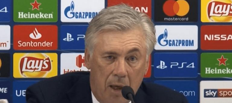 Ancelotti «C'est beau de voir comment le PSG grandit&il peut gagner la Ligue des Champions»
