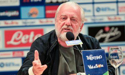 LDC - De Laurentiis évoque les conséquences du match truqué et la rencontre face au PSG