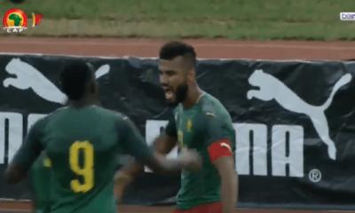Choupo-Moting donne la victoire au Cameroun sur un très joli but